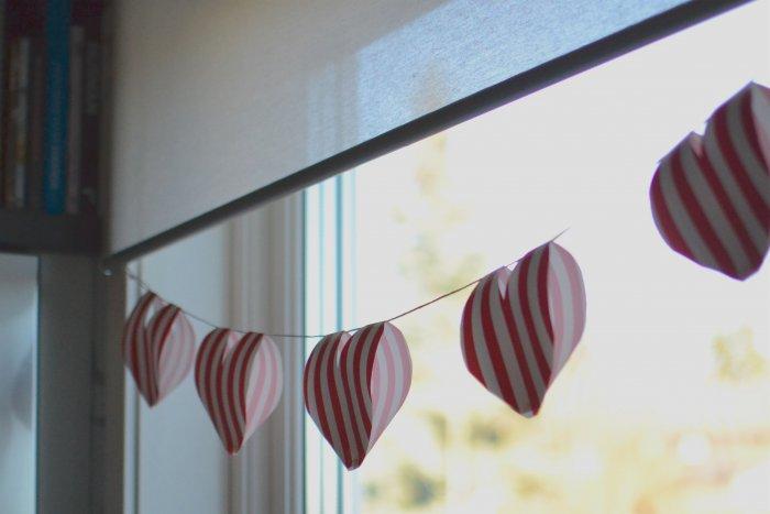 girlang, hjärtan, alla hjärtans dag, diy, frufibro, fru fibro
