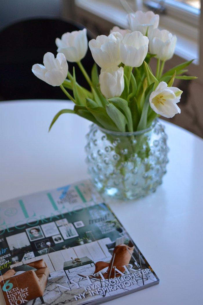 Tulpaner, Elle Decoration, Elle magazine, Fibromyalgi, Fru Fibro