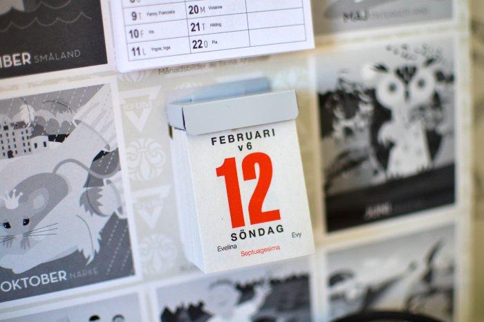 Datum, kalender, scouternas almanacka, frufibro, fibromyalgi