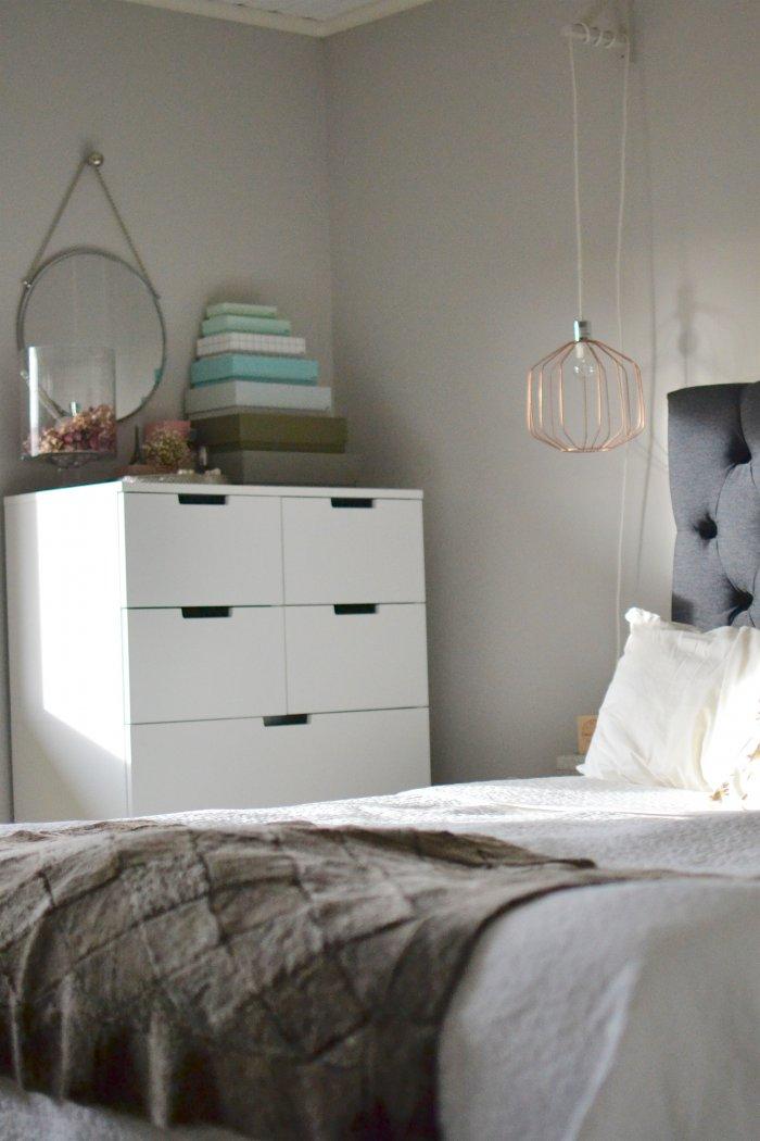 master bedroom, sovrum, ikea, hay, diy,