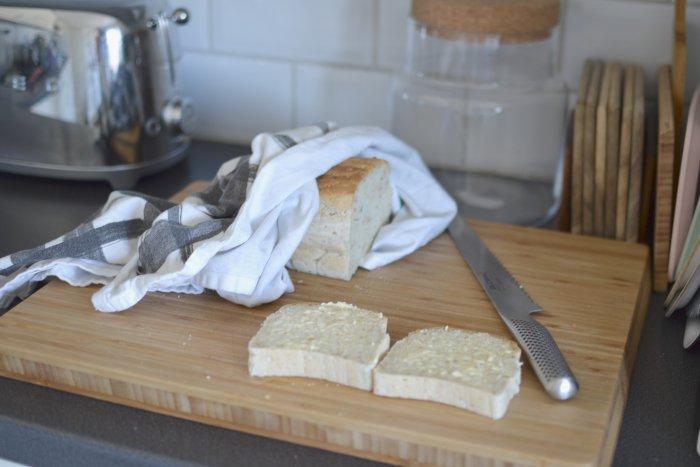 Så mycket kärlek och nybakt glutenfritt bröd