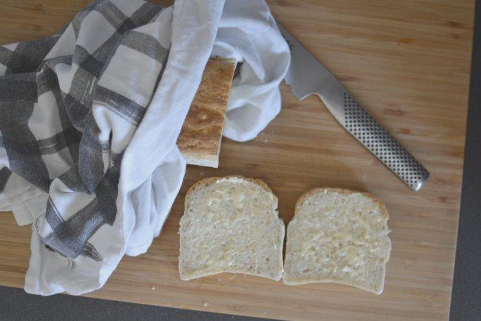 Så mycket kärlek och nybakat glutenfritt bröd.