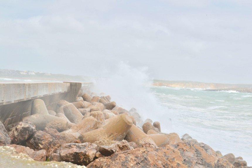 Sista dagarna i solen och hela havet stormar.
